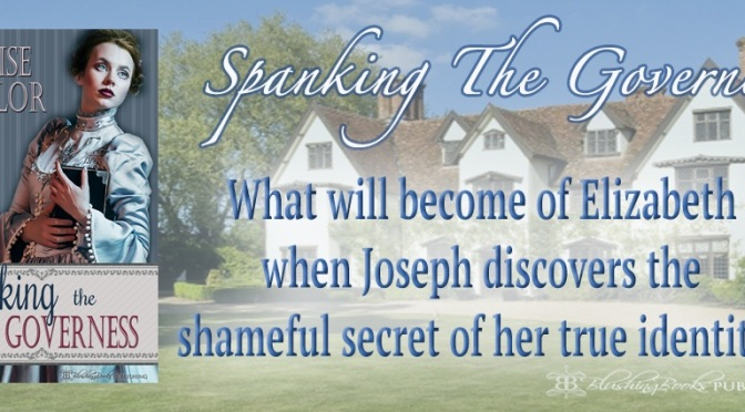 Spanking The Governess, available now!