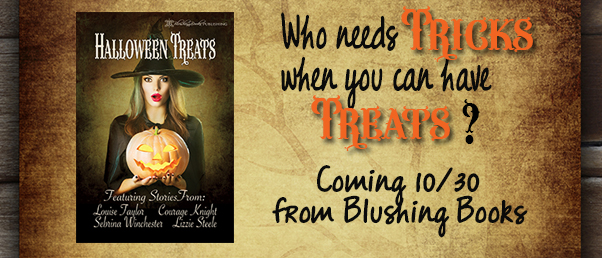 Halloween Treats with Blushing Books!