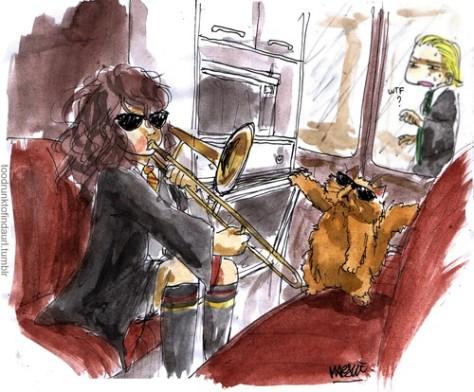 hermione trombone