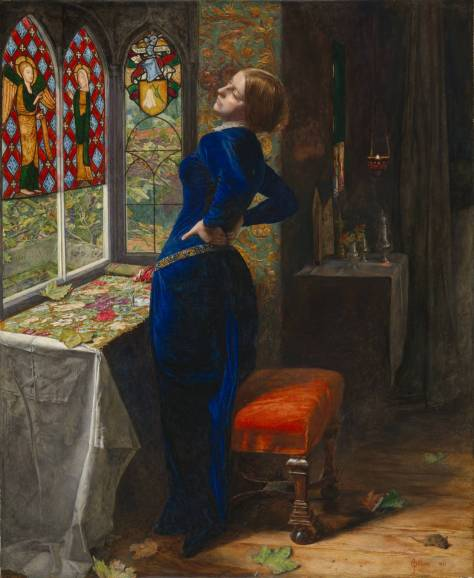 Mariana 1851 by Sir John Everett Millais, Bt 1829-1896
